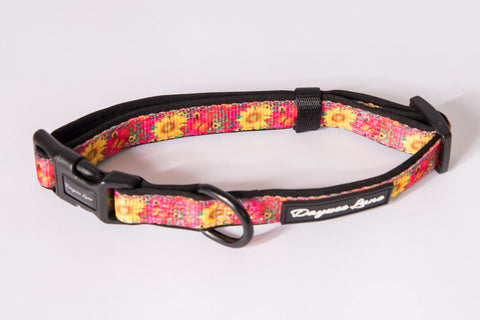 Dayzee Lane Sunflower and Butterflies Collar