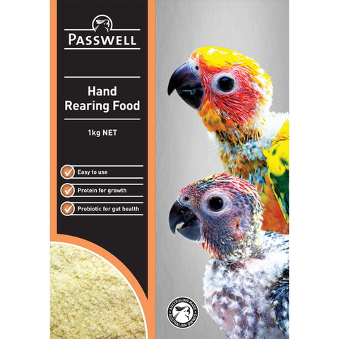 Passwell Hand Rearing Food 1kg