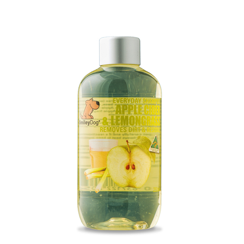 Smiley Dog Applecider & Lemongrass Shampoo