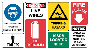 Workplace Safety/Safety Signs