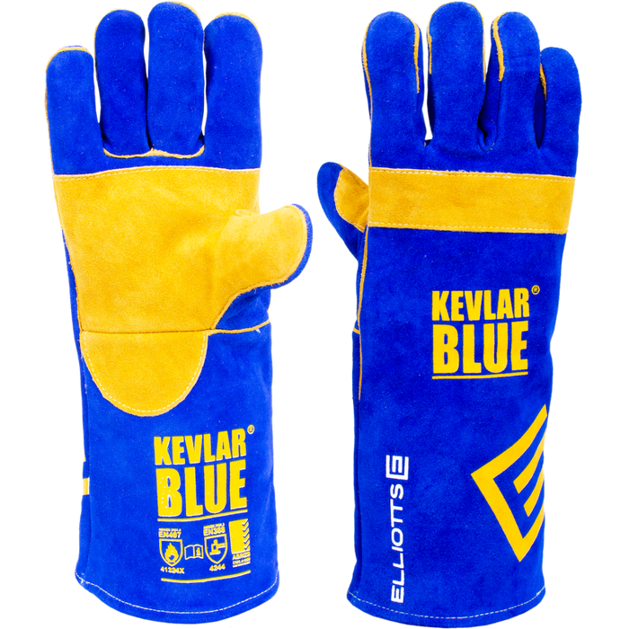 The KEVLAR® BLUE™ Welding Glove