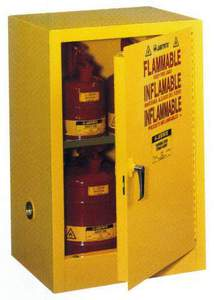 60 Litre Flammable Cabinet Open