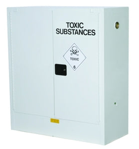 AU25302T 160L Toxic Cabinet 2 Shelves 2 Door