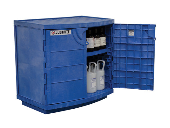 90L Dangerous Goods Storage Polyethylene Corrosive Safety Cabinet 10 Yr Wty