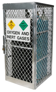 Gas Cylinder Locker - 10 Cylinder Vertical