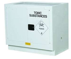AU25748T 100L Toxic Cabinet 2 Shelves 2 Door