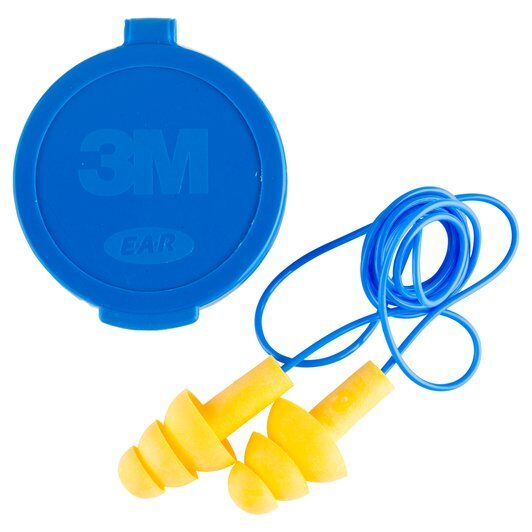 3M UltraFit Corded Earplugs with Carry Case - Single