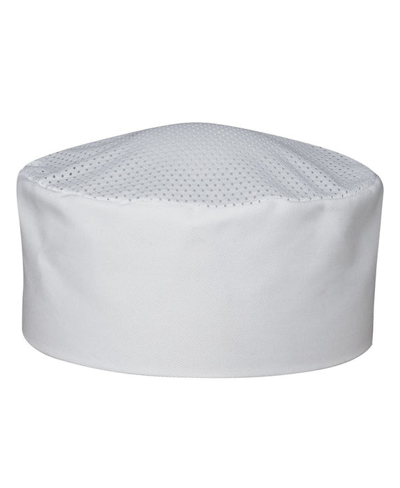 CHEF'S VENTED CAP - White