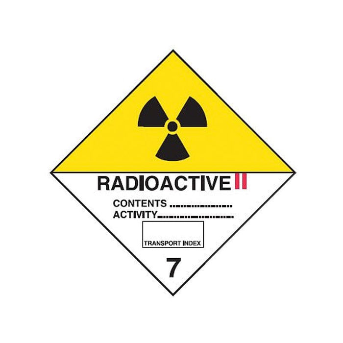 Radioactive II 7 Sign - Poly