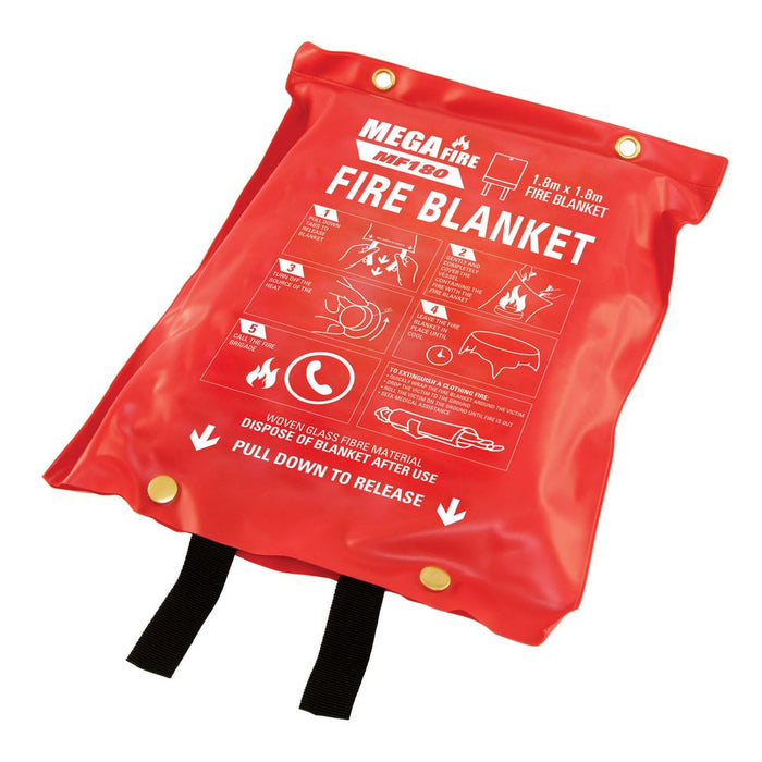 Industrial Fire Blanket 1.8 x 1.8 m