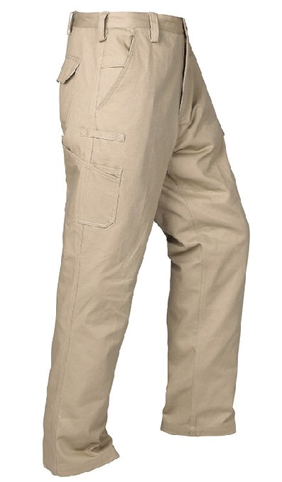 Cotton Drill Cargo Pants Trousers
