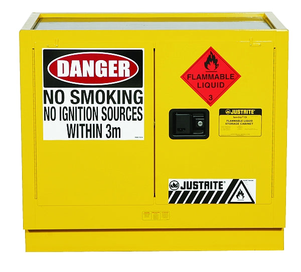 100 Litre Flammable Cabinet Under Bench/Tray Top