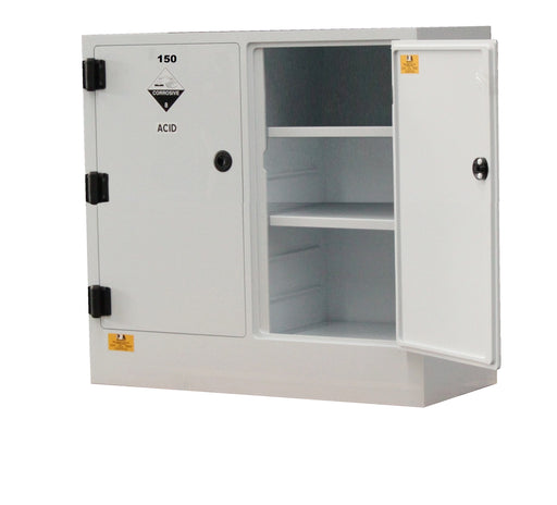 Polystore 150 L Corrosive Chemical Cabinet Dual Compartment