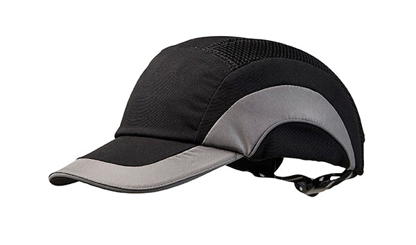 Bump Cap Black Grey