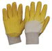 Latex Rubber Glass Gripper Gloves