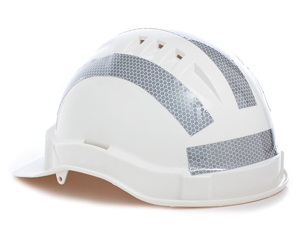 Hard Hat Reflective Tape Curved (10 pk)