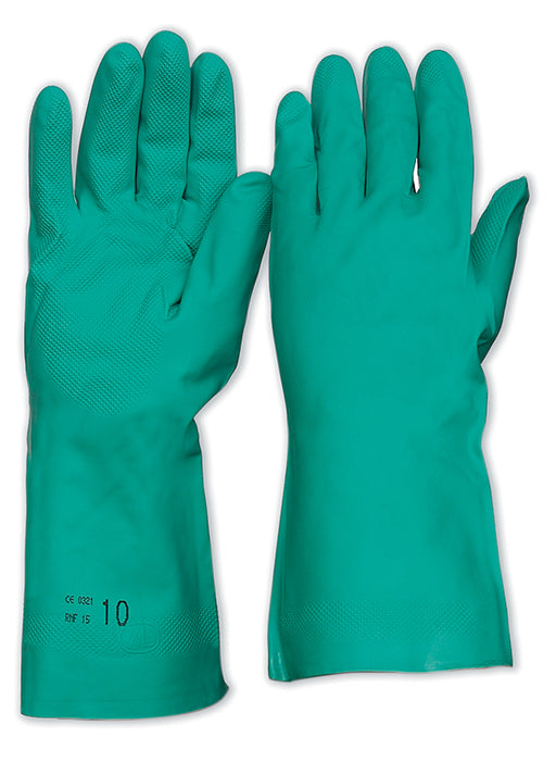 Nitrile Chemical Gloves 33cm
