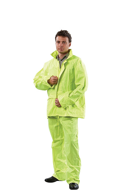 Rain Set - Hi Vis Jacket & Pants