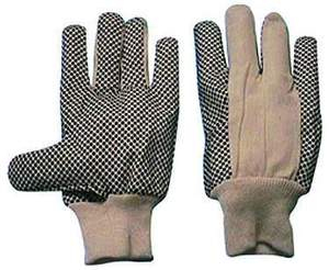 Interlock Poly/Cotton PVC Dot Gloves