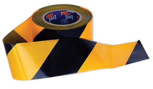 Yellow and Black Barrier Tape