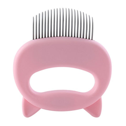 Image of Pet Massager & Deshedding Shell Comb
