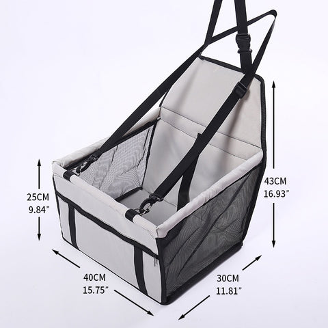 Image of Foldable Pet Car Seat