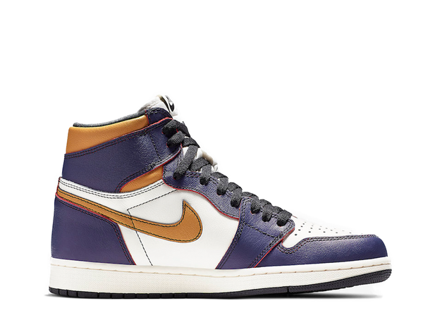 "Nike Air Jordan Retro 1 ""Lakers"" SNKRS auto-checkout!"