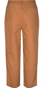 MOSS COPENHAGEN bukser - Kali Ankle Pants, Tobacco Brown 14843