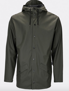 Rains Jakke 1201 Jacket army