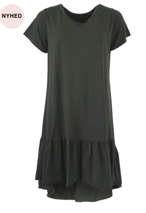 BLACK COLOUR Kjole SANN JERSEY DRESS Army