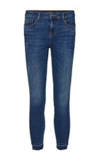 Indlæs billede til gallerivisning Freequent Jeans Agger-7/8-JE 121083 Medium Blue