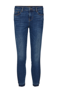 Freequent Jeans Agger-7/8-JE 121083 Medium Blue