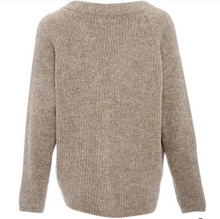 Indlæs billede til gallerivisning Tiffany Cardigan Darling Knit  8720 light brown