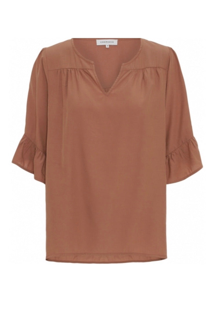 Continue Top Thyra Bluse