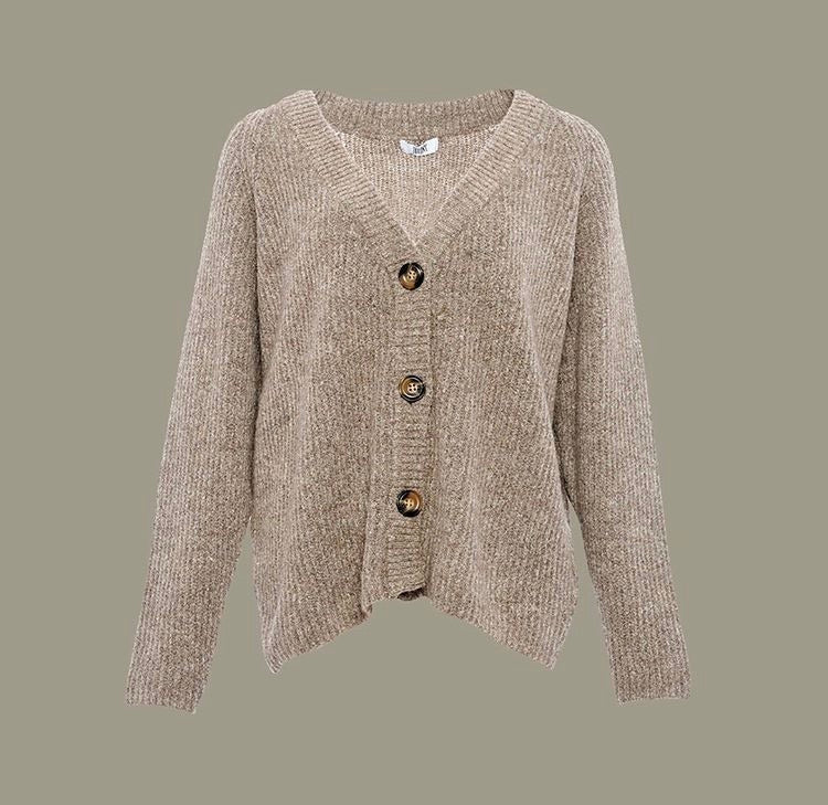 Tiffany Cardigan Darling Knit  8720 light brown