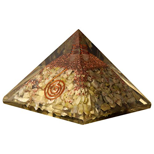 Serpentine Orgone Pyramid | Crystal Point Size: 2.5-3 Inch