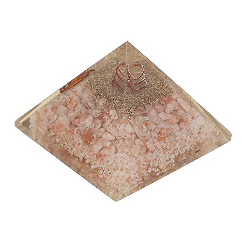Sunstone Orgone Pyramid | Crystal Point  Size: 2.5-3 Inch