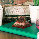 Exclusive Green Aventurine & Moonstone Orgone Pyramid with Hexagram Symbol Size: 3-3.5 Inch