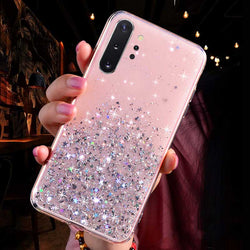 Glitter Star Samsung Phone Case