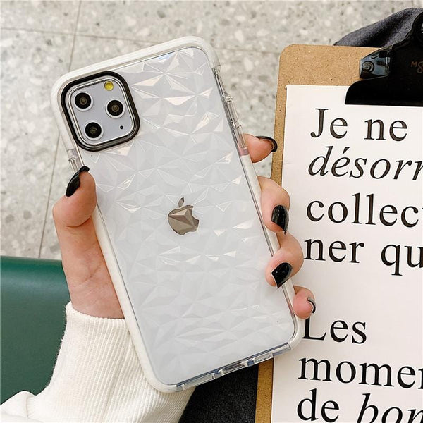 Shockproof Diamond iPhone Case