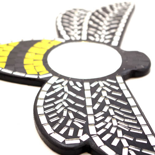 Mosaic Bee Wall Mirror