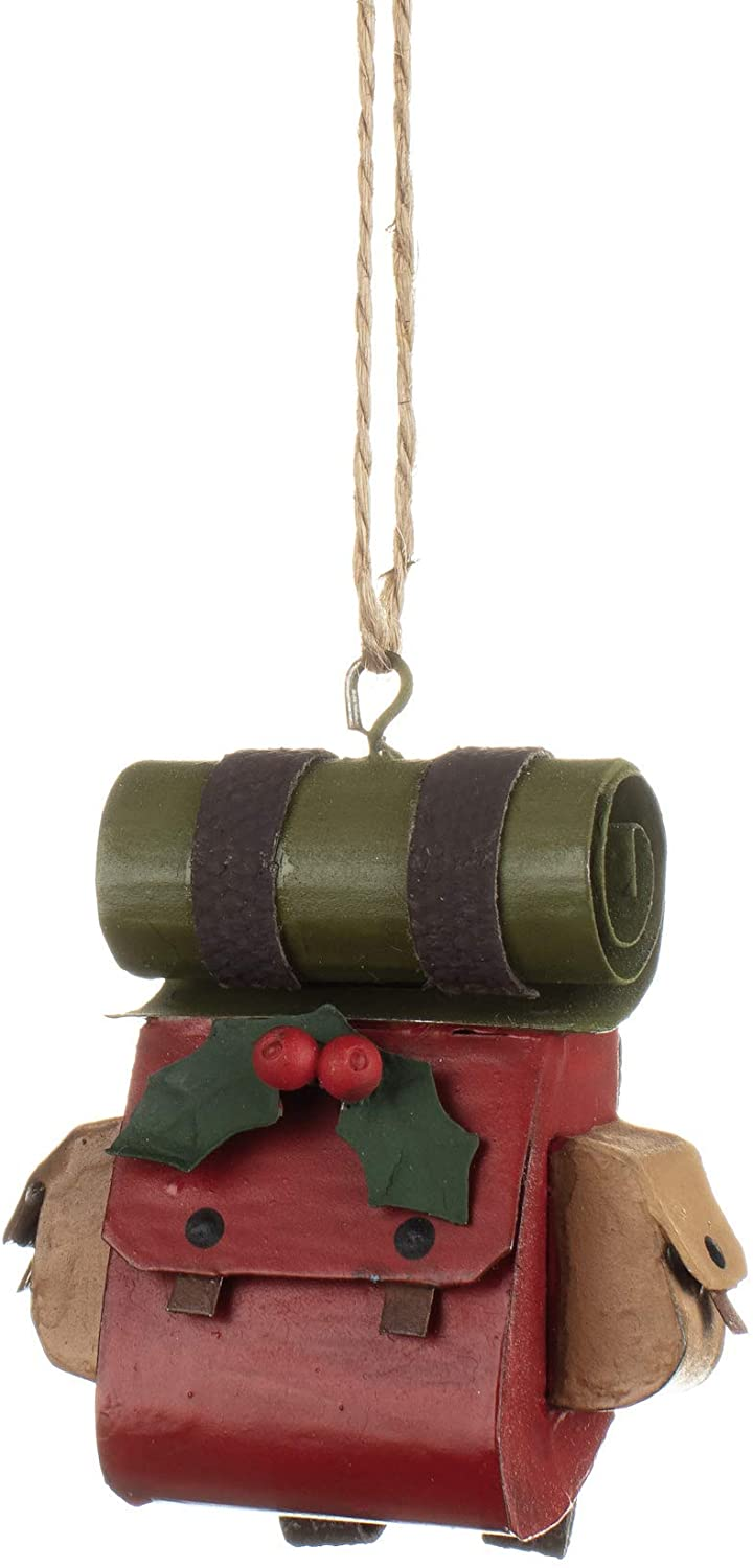 Shoeless Joe - Christmas Gap Year Rucksack Small Hanging Decoration
