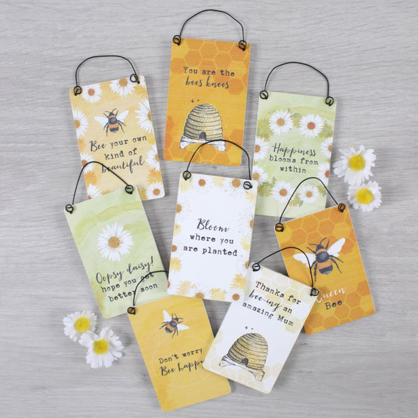 Bee Assorted Mini Signs