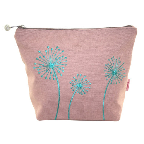 Dandelion Cosmetic Purse - Blush Pink