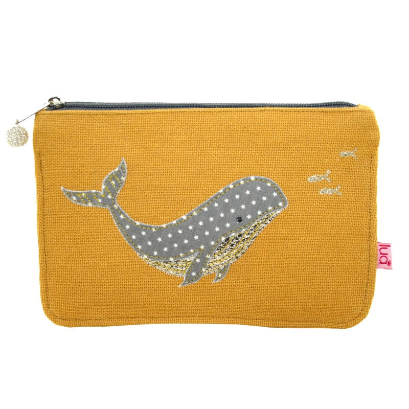 Lua Large Whale Purse - Yellow Ochre