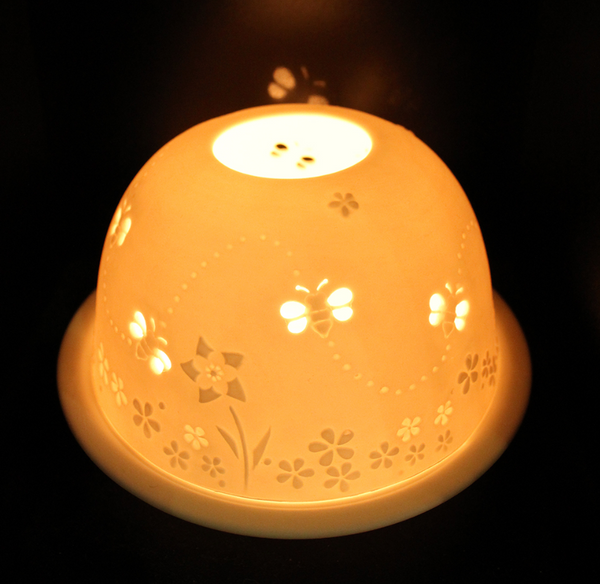 Light-Glow Busy Bees Tea Light