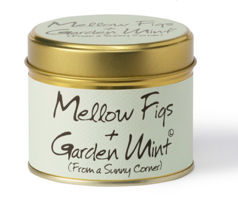 Lily Flame Mellow Figs & Garden Mint Candle