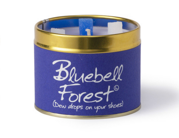 Lily Flame Bluebell Forest Candle