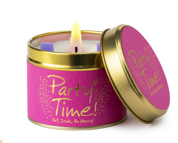 Lily Flame Party Time Candle