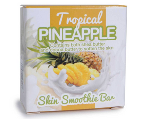 Tropical Pineapple Skin Smoothie Bar